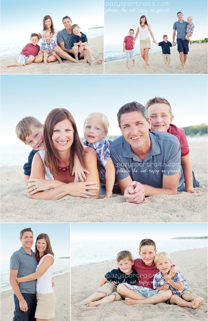 group photo ideas on the beach - Pazy s Portraits beach party of five